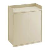 Gabinete montado en la pared para el uso en cuartos de baño y cocinas Imagen de archivo