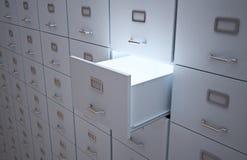Gabinetes de arquivo imagens de stock royalty free