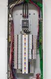 Gabinetes eléctricos Imagen de archivo libre de regalías