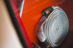 Gabinetes para los extintores Imagen de archivo libre de regalías