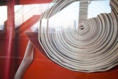 Gabinetes para los extintores Fotografía de archivo