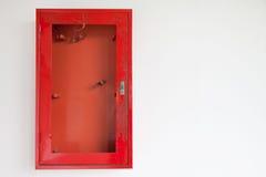 Gabinetes para los extintores Foto de archivo libre de regalías