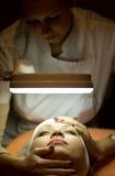 gabinetowa kosmetyczna kobieta Obraz Stock