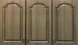 Gabinetowy drzwi dla kuchni Fotografia Royalty Free