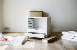 Gabinetowy instalacyjny meble wytłacza wzory DIY Fotografia Royalty Free