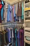 Gabinetto della Camera per abbigliamento immagine stock libera da diritti