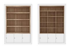 Gabinetto di legno illustrazione di stock