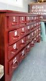 Gabinetto di legno per la predizione Immagine Stock