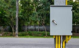 Gabinetto elettrico all'aperto Fotografie Stock Libere da Diritti
