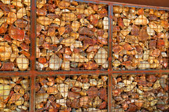Gabion Royalty Free Stock Photography