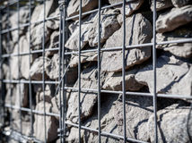 Gabion Structure Stock Images