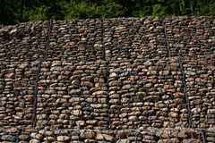 Gabion wall Stock Photos