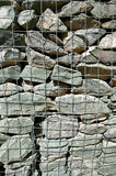 Gabion Wall Background Stock Photos