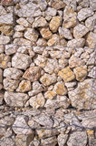 Gabion wall detail Stock Images