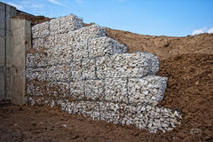 Gabions Royalty Free Stock Images