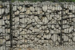 Gabions Stock Photo