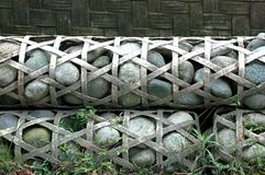 Gabions Royalty Free Stock Image