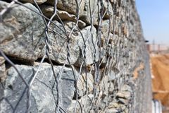 Gabions Stock Images