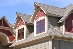Free Gable Dormers On Residential Home Royalty Free Stock Photos - 14403408