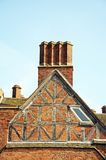 Gable end of Franciscan Friary, Lichfield. Royalty Free Stock Photos