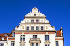 Gable and facade of the old Orlando Royalty Free Stock Images