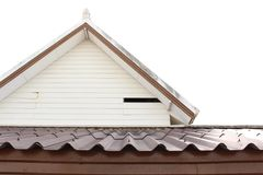 Gable and roof Stock Image