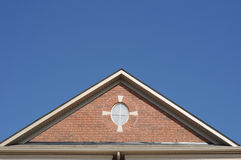 Gable Roof Stock Photography