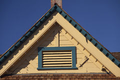 Gable Roof on Carlsbad Village Info Center Stock Photography