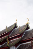 Gable and roof temple Royalty Free Stock Photography