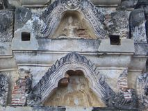 Gable Sculpture Sukhothai fotos de stock royalty free
