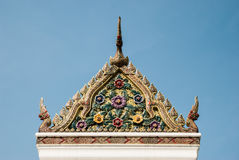 Gable of shrine in The City Pillar Shrine Stock Photography