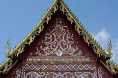 Gable temple Royalty Free Stock Photo