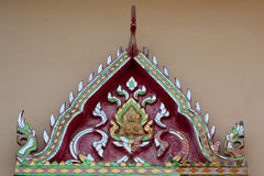 Gable temple Royalty Free Stock Photography