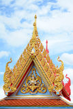 Gable temple Stock Images