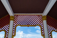 Gable Thai art Stock Photography