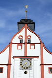 Gable of a town hall in a small german town Royalty Free Stock Photography