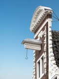 Gable of typical dutch house in Amsterdam Royalty Free Stock Photos