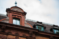 gable with window in Berlin Stock Images