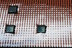Gabled окна Стоковые Изображения