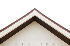 The Gabled houses Royalty Free Stock Photo