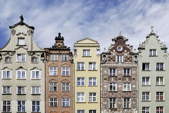Gabled houses of Gdansk in Poland Stock Photo