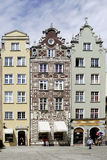 Gabled houses of Gdansk in Poland Royalty Free Stock Photo