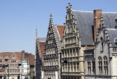 Gables in Ghent, Belgium Stock Photography