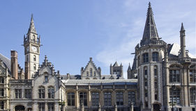 Gables in Ghent, Belgium Royalty Free Stock Photography