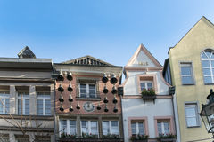 Gables old town Duesseldorf, Germany Stock Image