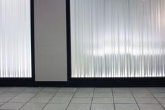Gablota wystawowa Fotografia Stock