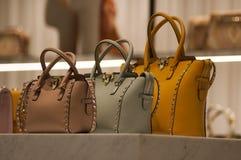 Gablota wystawowa handlu detalicznego szczegół Fotografia Stock