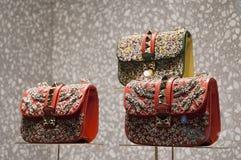 Gablota wystawowa handlu detalicznego szczegół Obraz Stock