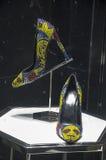 Gablota wystawowa handlu detalicznego szczegół Zdjęcia Royalty Free