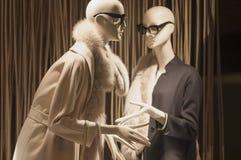 Gablota wystawowa handlu detalicznego szczegół Obraz Royalty Free